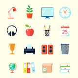 Room Interior Icons Royalty Free Stock Image