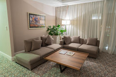 Room interior with modern furniture Stock Image