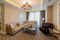 Room interior with modern furniture Royalty Free Stock Image