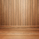 Room interior with wood wall and floor Royalty Free Stock Photography