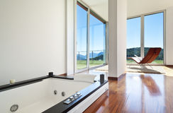 Room with jacuzzi Stock Photos