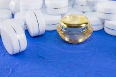 Room kosmetisch pakket Royalty-vrije Stock Afbeeldingen
