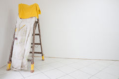Room with a ladder Royalty Free Stock Photos