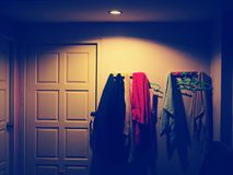 Room. Light and shadow, room, art, vintage stock images
