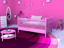 Room for little girl Royalty Free Stock Photos