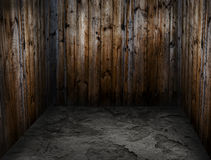 Room made ​​of wood Stock Photography