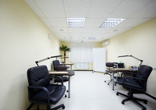 Room for manicure with two working places Royalty Free Stock Photos