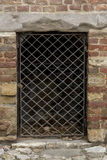 Room with metal grating Royalty Free Stock Photo