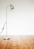 Room with modern floor lamp Stock Photos