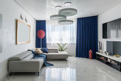 Room in modern style Royalty Free Stock Photos