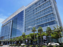 The 380-room Novotel Bangkok Impact, Thailand. PAKKRED, NONTHABURI PROVINCE, THAILAND -MAY 15, 2014: Located in the heart of Impact complex, the 4-star Novotel Stock Images