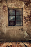 Room in an old abandoned house Royalty Free Stock Photography