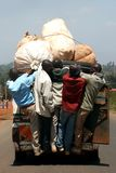 Room for one more... Transport for as many as possible the Kenyan way Stock Photography