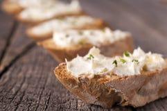 Room op het brood stock fotografie