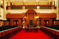 Room of parliament building Stock Photos