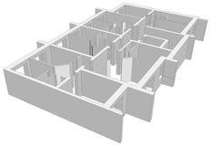 Room plan. Vector Stock Photos