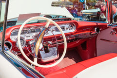 Room 1957 Pontiac Bonniville Royalty-vrije Stock Afbeeldingen