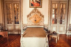 Room in the Queluz National Palace stock image