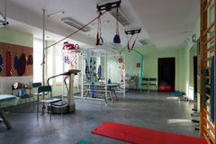 Room with rehabilitation equipment Stock Photos