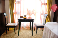 Room for relaxation in a spa Royalty Free Stock Photos