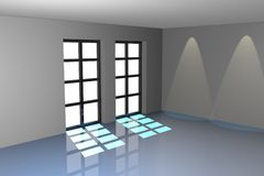 Room render Royalty Free Stock Photography