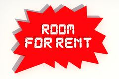 Room. For Rent Tags Stock Photo