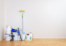 Room repairs. Royalty Free Stock Photography