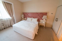 Room in Riverside Hotel Royalty Free Stock Photography