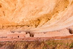 16 Room Ruin in Alcove Royalty Free Stock Photography