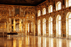 The room. Russia, Saint-Petersburg hall in Tsarskoye Selo Stock Photography