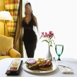 Room service. Stock Image