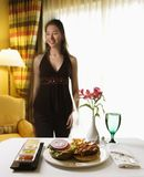 Room service. Stock Photography