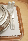 Room service platter Royalty Free Stock Photo
