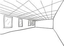Room Sketch Cutout Stock Photos