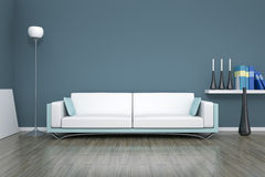 Room and sofa Stock Images
