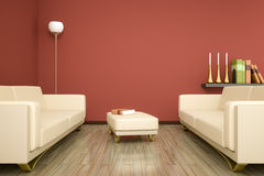 Room and sofa Royalty Free Stock Photography