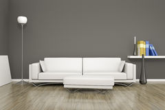 Room and sofa Royalty Free Stock Images