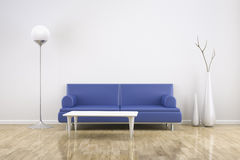 Room and sofa Royalty Free Stock Photo