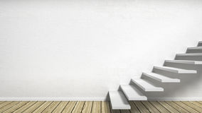 Room with stairs Royalty Free Stock Image