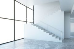 Room with stairs Stock Photography