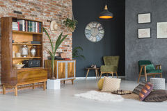 Room with stylish furniture Royalty Free Stock Photography