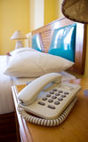 Room telephone Royalty Free Stock Image