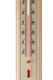 The room thermometer closeup Royalty Free Stock Images