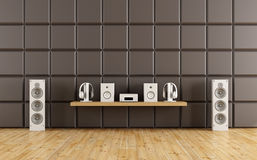 Room to listen to music Royalty Free Stock Photo