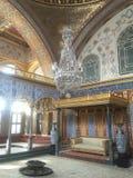 Room at topkapi palace, istambul stock photos