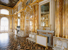 Room at Tsarskoye Selo Pushkin Palace Stock Photos