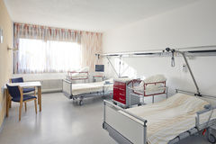 Room two bed hospital Royalty Free Stock Photography