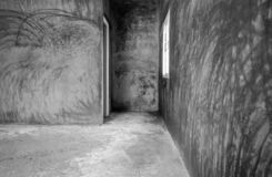 Room Unfinished mortar stock images