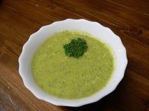 Room van broccolisoep Stock Foto's