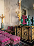 Wood room with furnitures at Versailles Palace Royalty Free Stock Photos